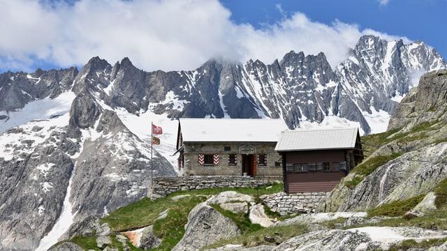Bild der Lauteraarhütte