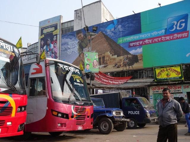 Wahlfarce in Bangladesch
