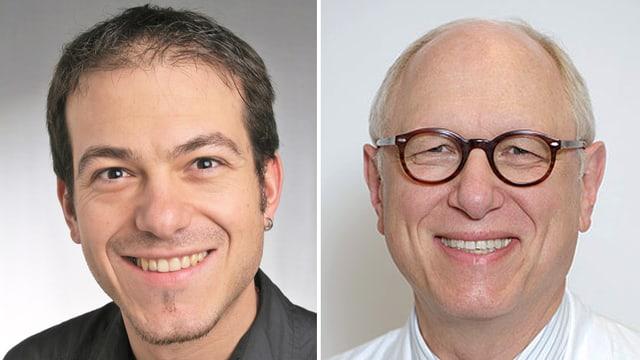 Dr. Norman Büchel und Prof. Michael Fried