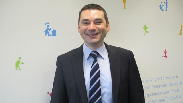 Der Suhrer Gemeinderat Stephan Campi möchte die Freiwilligenarbeit im Dorf fördern.
