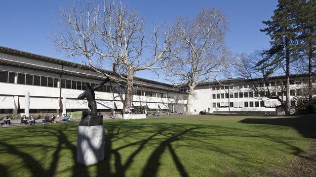 Garten Universität Basel
