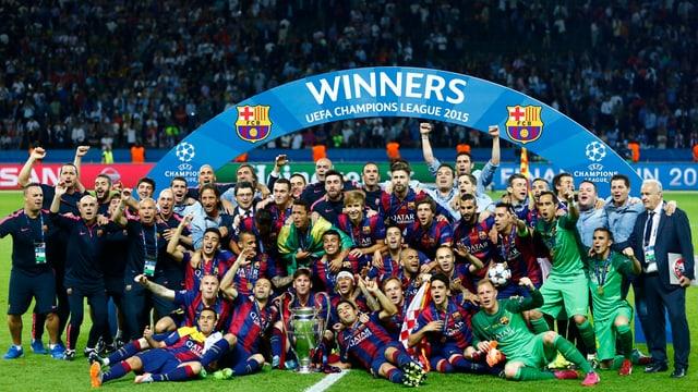 Il zercladur passà aveva il FC Barcelona gudagnà la UEFA Champions League 2015.