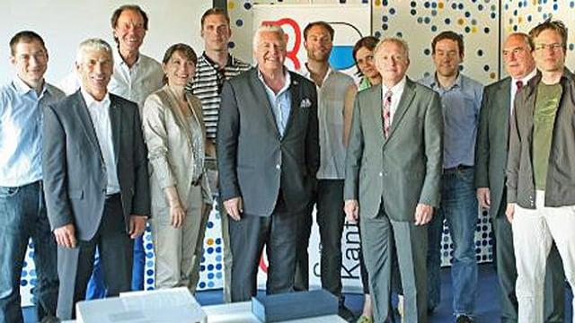 Ein Gruppenbild des Vorstands der IG Sport Luzern.