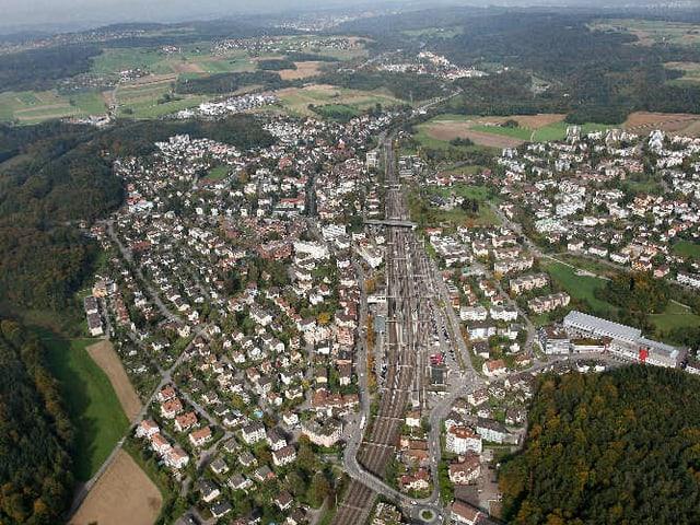 Die Stadt Illnau-Effretikon ist flächenmässig die fünftgrösste Gemeinde des Kantons Zürich.