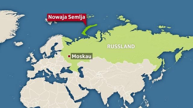 Nordpolarmeer Karte.Eisbären In Russland Jetzt Soll Das Militär Eingreifen News Srf