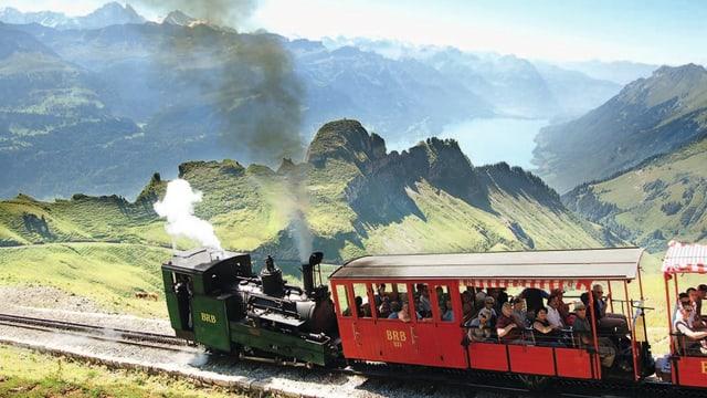 Die Brienz Rothorn Bahn.