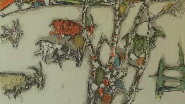 La renomada chaura verda da Alois Carigiet.