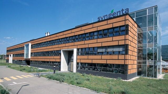 Forschungszentrum der Syngenta in Stein