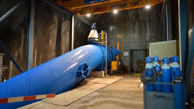 Wasserleitung des Kraftwerks Unteraa