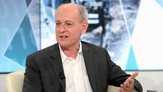 Stuart Russell, Professor in Berkeley, hier beim WEF in Davos.