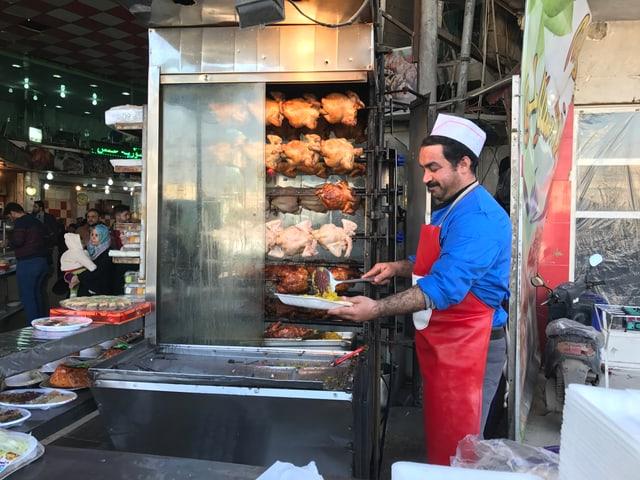 Ein beliebtes Restaurant im Zentrum von Ost-Mossul.