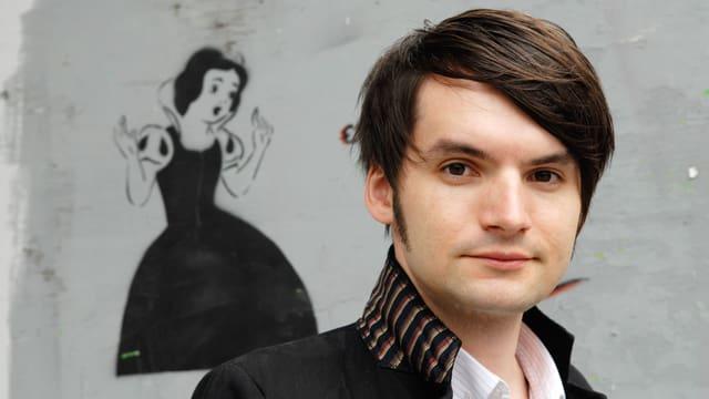 Porträtaufnahme des Autors Saša Stanišić