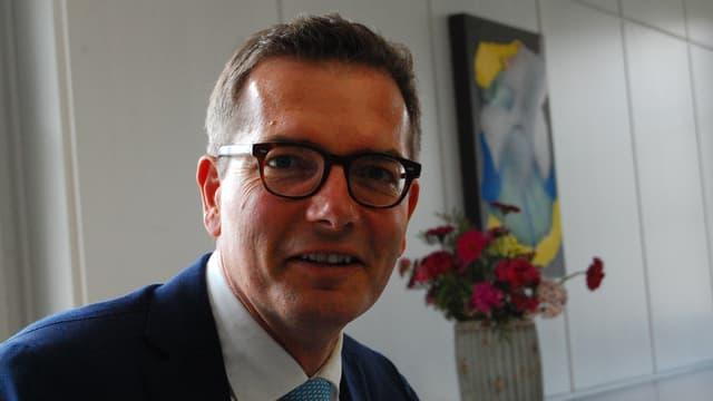 Raphael Lanz, Thuner Stadtpräsident und SVP-Grossrat.