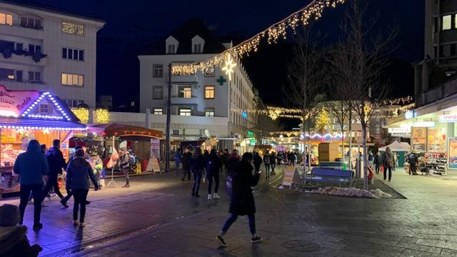 Weihnachtsmarkt in Chur