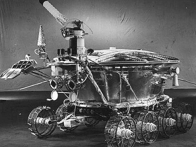 Der erste Rover «Lunochod 1», den die sowjetische Raumfahrt startete, steht noch auf dem Mond.