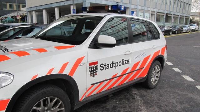 Stadtpolizei-Auto