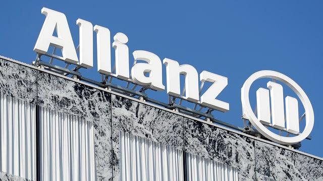 Schriftzug Allianz Suisse