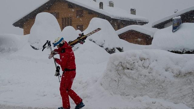 Dunna cun skis si dies.
