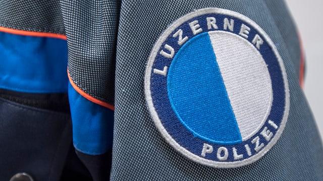 Polizeiuniform der Luzerner Polzei