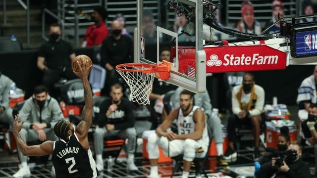 34 Punkte von Leonard: Clippers können reagieren