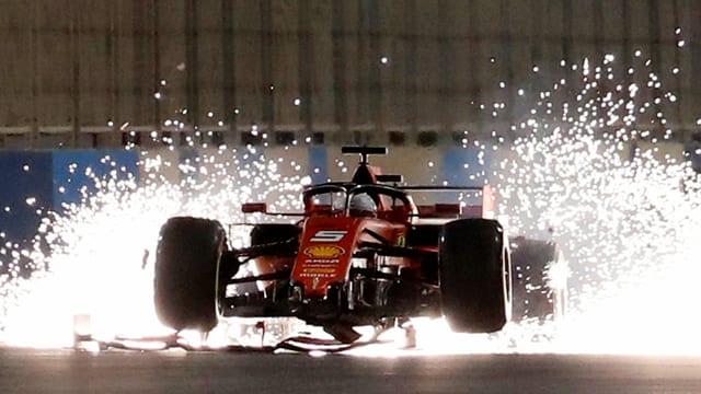 Ferrari an Nachtrennen