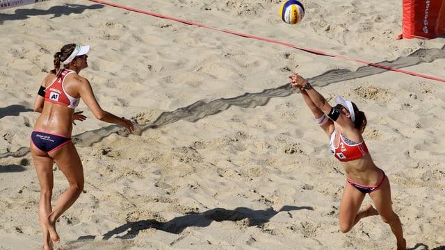 Beachvolleyballerinnen
