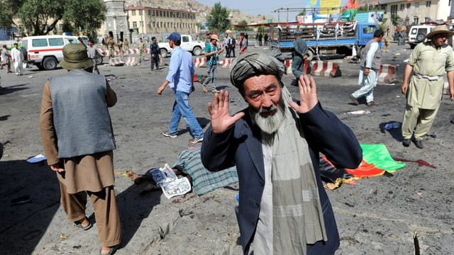 Plazza a Kabul.