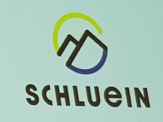 Il nov logo da la vischnanca Schluein.
