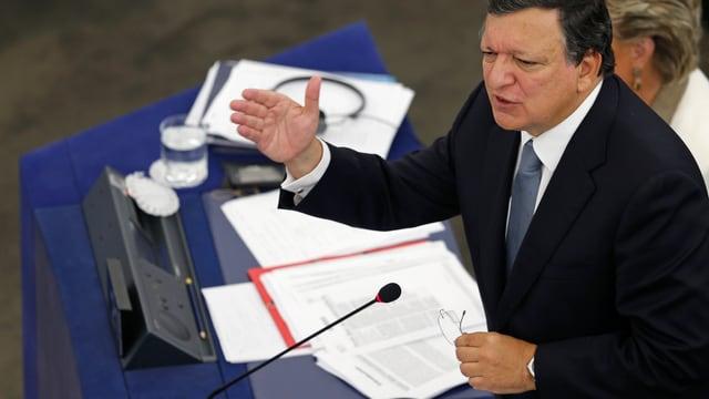 Porträt von José Manuel Barroso.