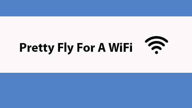 WLAN-Name: Pretty Fly For A WiFi