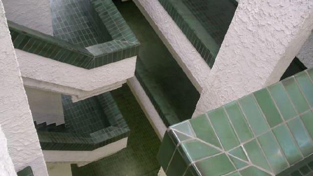 Treppenhaus der Kantonsschule Wattwil