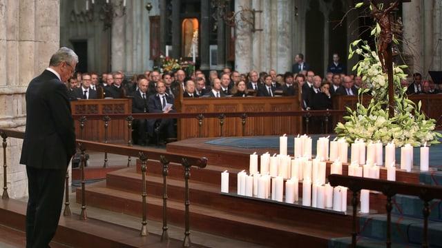 il president da la Germania Joachim Gauck