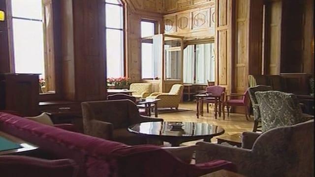 Salun en il Hotel Palace a San Murezzan