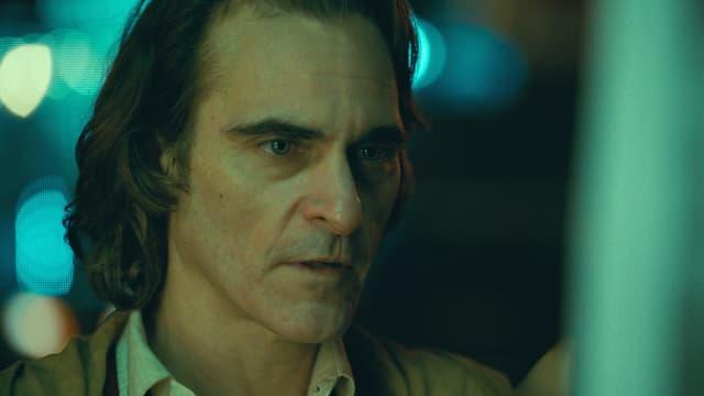 Schauspieler Joaquin Phoenix als Joker