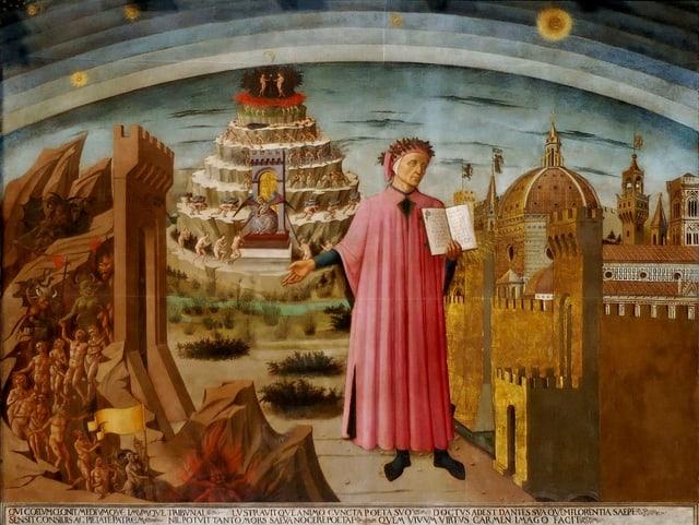La Divina Commedia di Dante.