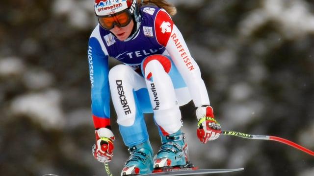 Martina Schild muss diese Ski-Saison pausieren.
