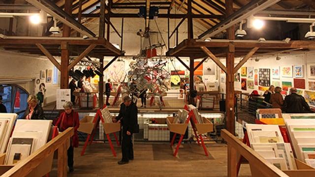 Kunstausstellung und Verkauf in Solothunr.