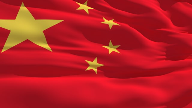 Chinesische Flagge.