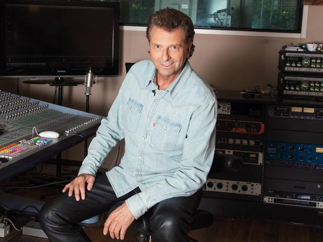 Der Schweizer Sänger Bo Katzmann.