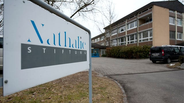 Gebäude der Nathalie-Stiftung in Gümligen (BE).