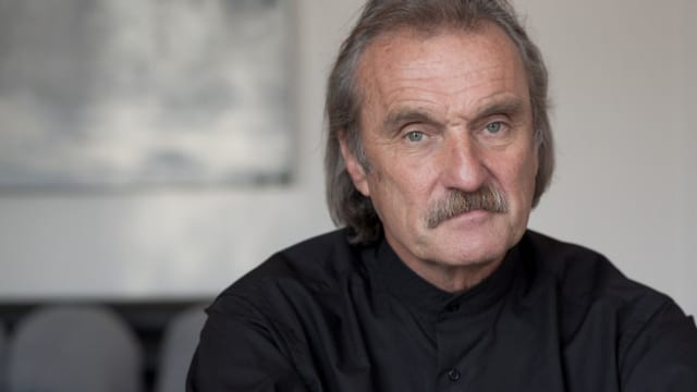 Der österreichische Schriftsteller Christoph Ransmayr