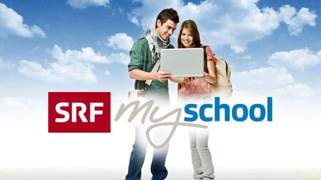 Das Logo von SRF mySchool