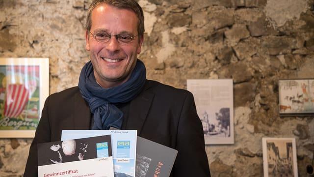 Andreas Ulich ha gudagnà la concurrenza cun sia istorgia che porta il titel «Kranewitt».