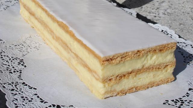 Crèmeschnitte: Das Rezept von Meisterbäcker Jürg Gadient.