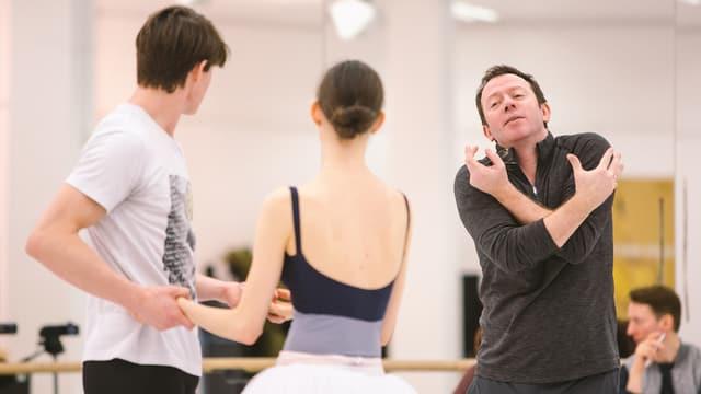 Alexei Ratmansky und Tänzerpaar