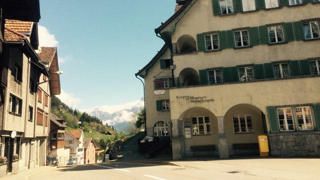 Das Altersheim im Zentrum von Wassen.