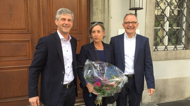 Daniel Siegenthaler SP, Angelica Cavegn Pro Aarau, Hanspeter Hilfiker FDP