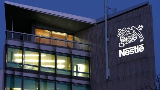 Nestlé-Gebäude.