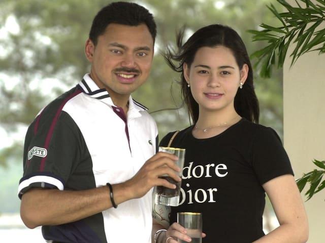 Brautpaar Kronprinz von Brunei