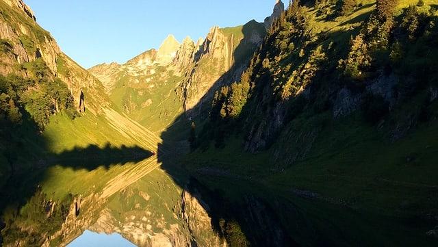 Der Fälensee im Alpstein.